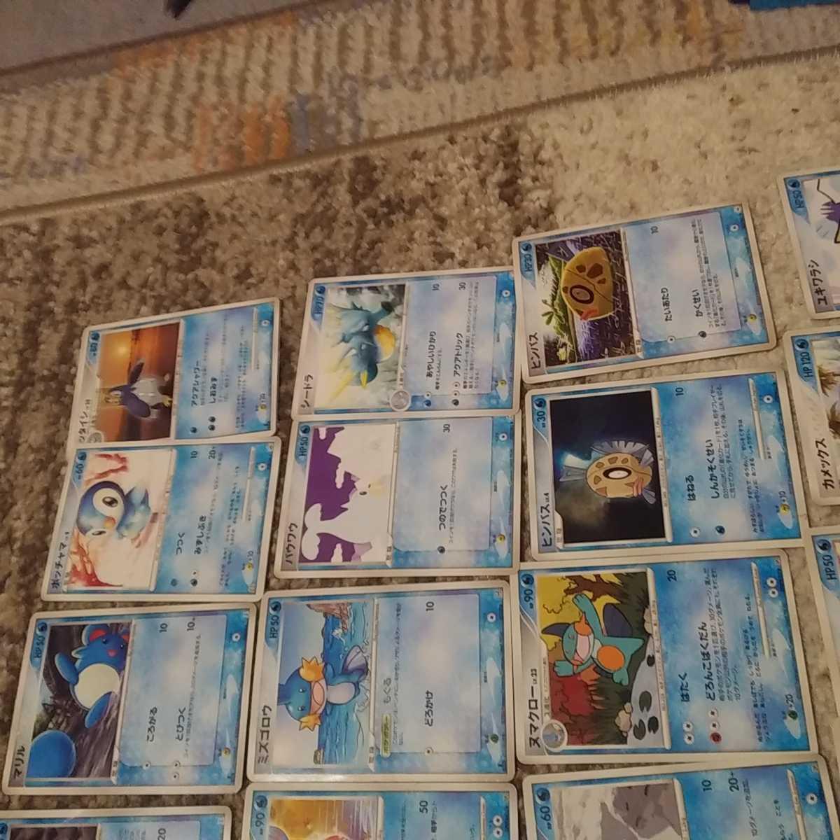 ポケモンカード 水ポケモン 28枚セット まとめ売り 1円売り切り_画像2