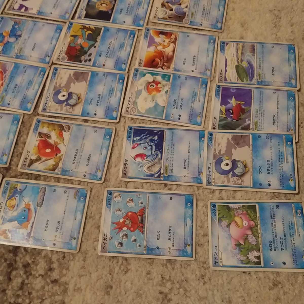 ポケモンカード 水ポケモン 28枚セット まとめ売り 1円売り切り_画像3