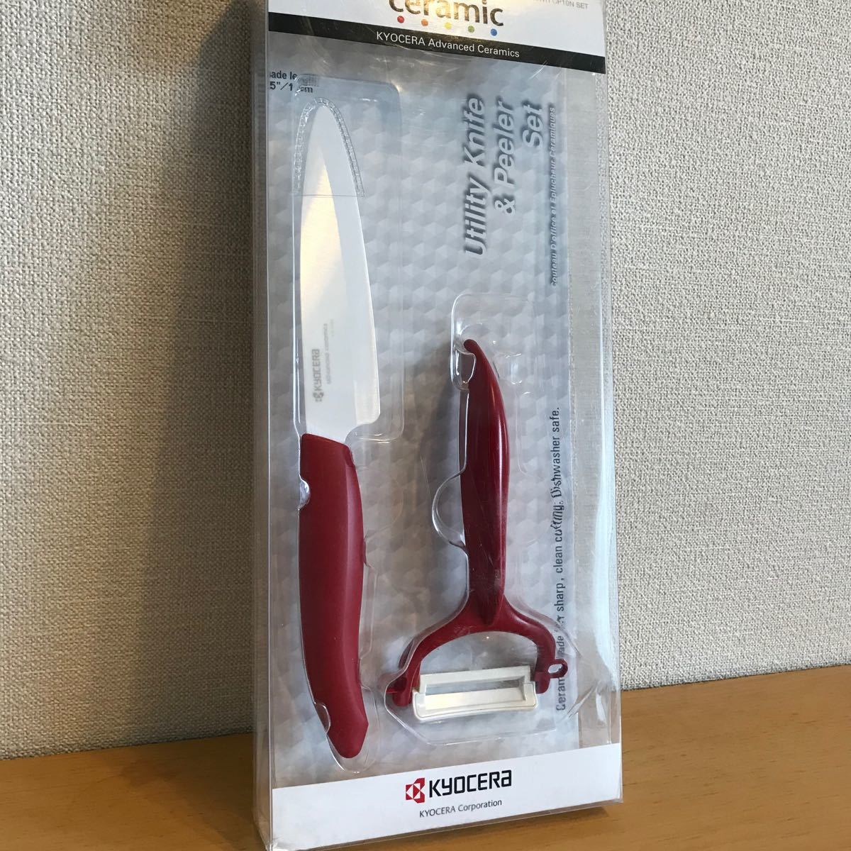 京セラ セラミックナイフ ピーラー セット 新品