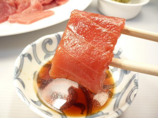 1【Max】訳あり バチマグロの切り身!海鮮丼に最高です! 1円_もちろん漬けマグロにしても美味しいです!