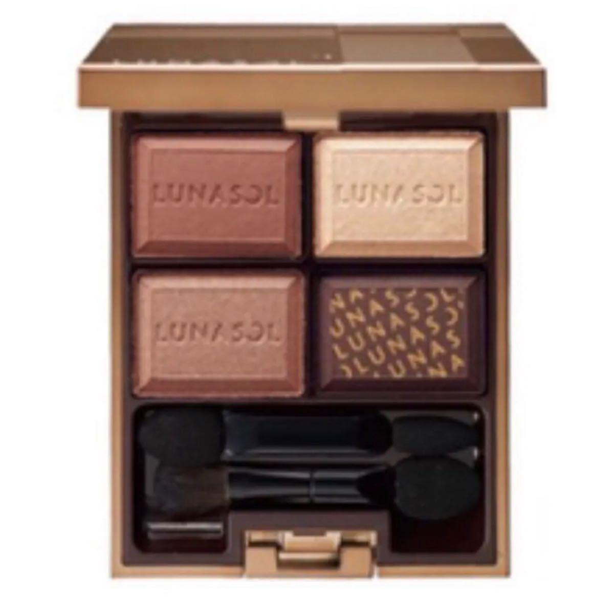 ルナソル セレクション・ドゥ・ショコラアイズ 02 Chocolat Amer LUNASOL アイシャドウ
