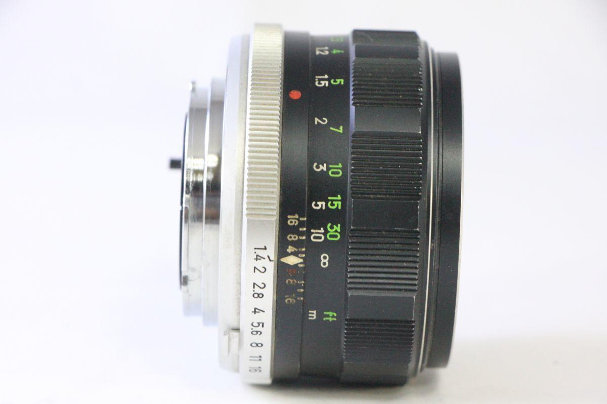 ミノルタ MINOLTA MC ROKKOR-PF 58mm F/1.4★レンズ縁くもり★GGG938_画像2