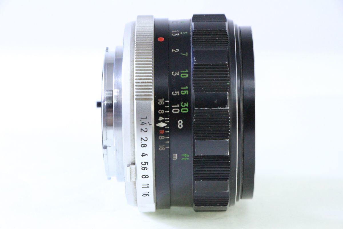 ★ミノルタ MINOLTA MC ROKKOR-PF 58mm F1.4★薄クモリ★3177_画像2
