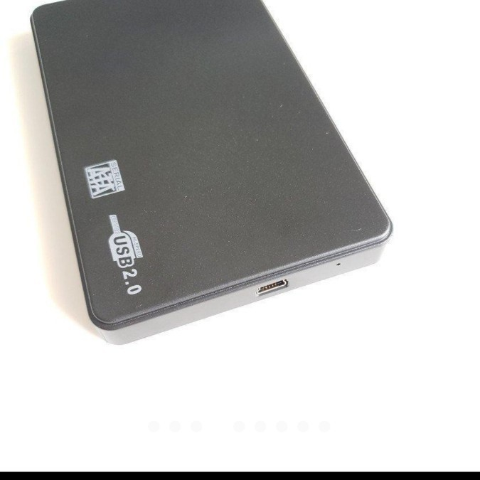 2.5インチ HDD/SSD ケース 接続 SATA 9.5mm/7mm対応 白