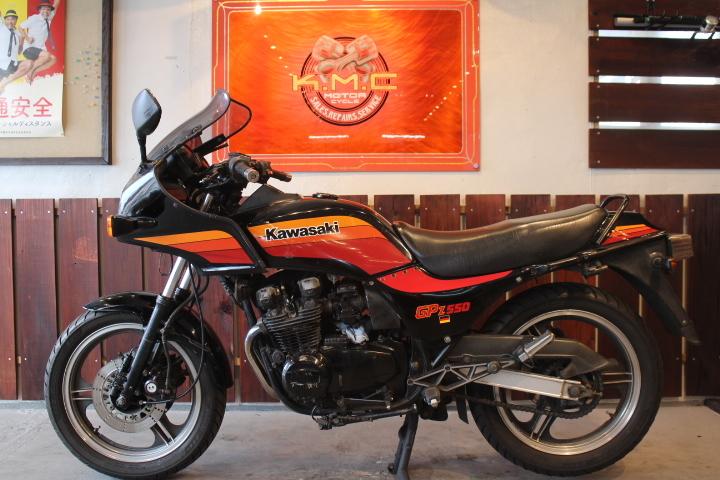 「1985年モデル カワサキ GPZ550 オリジナルコンディション」の画像2