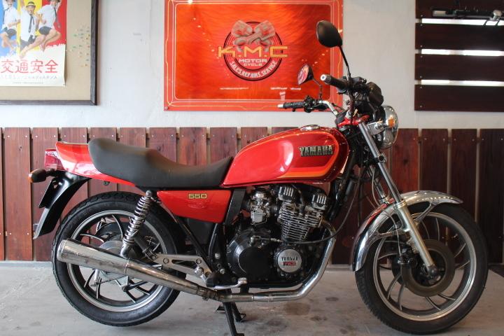 「1980年モデル ヤマハ XJ550 オリジナルペイント 新規3年お付けできます」の画像1