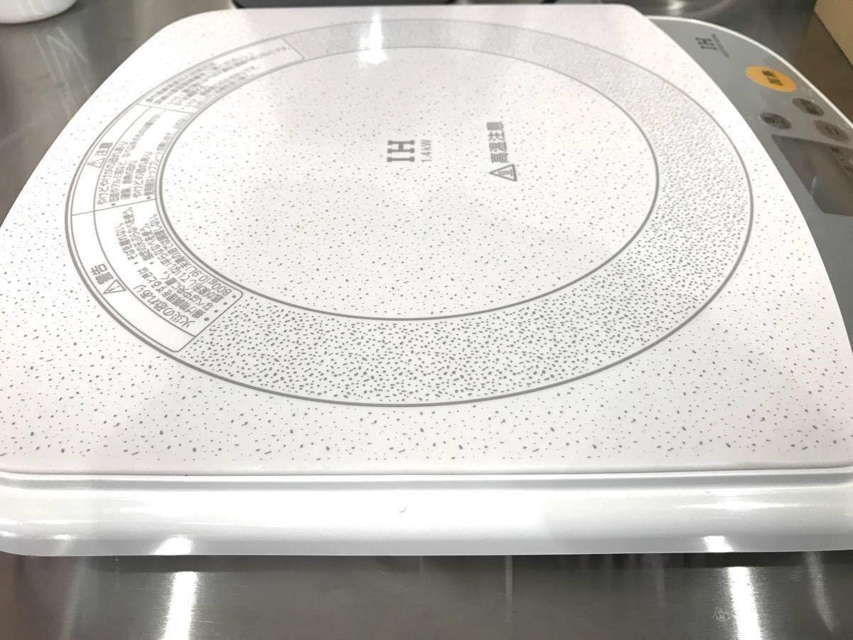 National 卓上IH調理器 KZ-PH3-W ホワイト IHクッキングヒーター 中古品 Used