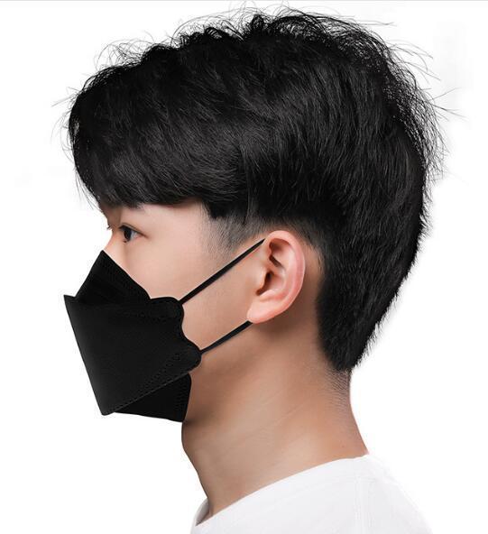 KF94 1817A【送料無料】白色80枚組特価!高密度フィルターFK94マスク 4層 使い捨て 不織布 超立体マスク!韓国マスクkf94マスク ロマンス_画像7