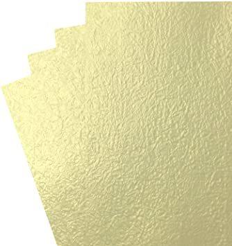 白金 B4判 【Amazon.co.jp 限定】和紙かわ澄 金色 白金色 ライムゴールド もみ紙 B4 約25.7×_画像1
