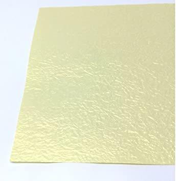 白金 B4判 【Amazon.co.jp 限定】和紙かわ澄 金色 白金色 ライムゴールド もみ紙 B4 約25.7×_画像2