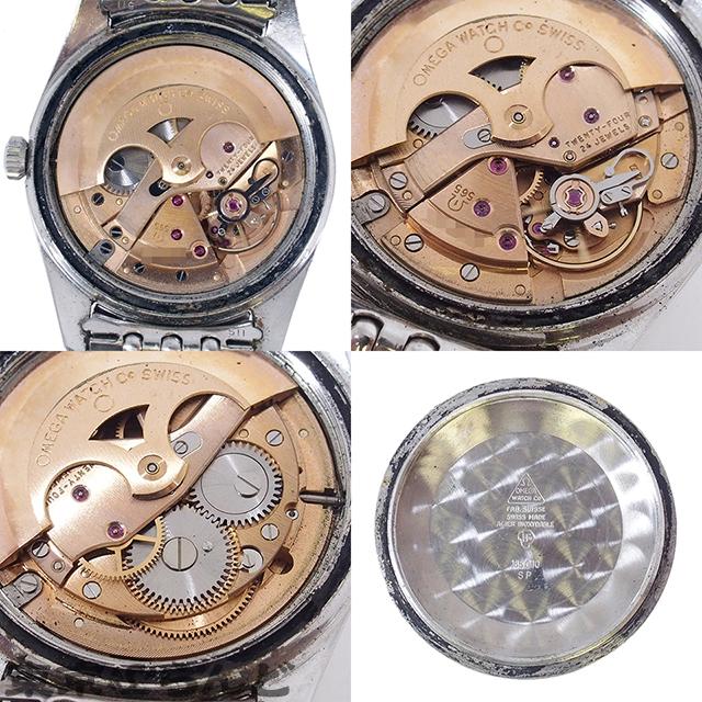 101512451 1円 オメガ OMEGA シーマスター 腕時計 メンズ 自動巻 オートマチック SS アンティークウォッチ cal.565 166.010 日差大 現状_画像9