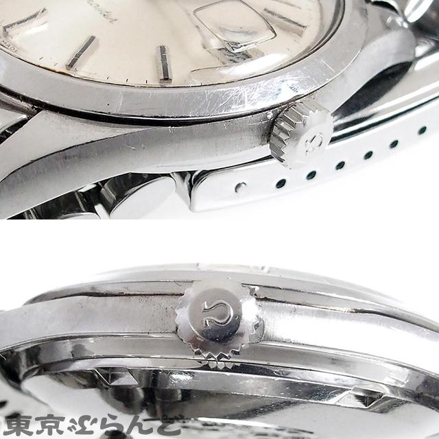 101512451 1円 オメガ OMEGA シーマスター 腕時計 メンズ 自動巻 オートマチック SS アンティークウォッチ cal.565 166.010 日差大 現状_画像5