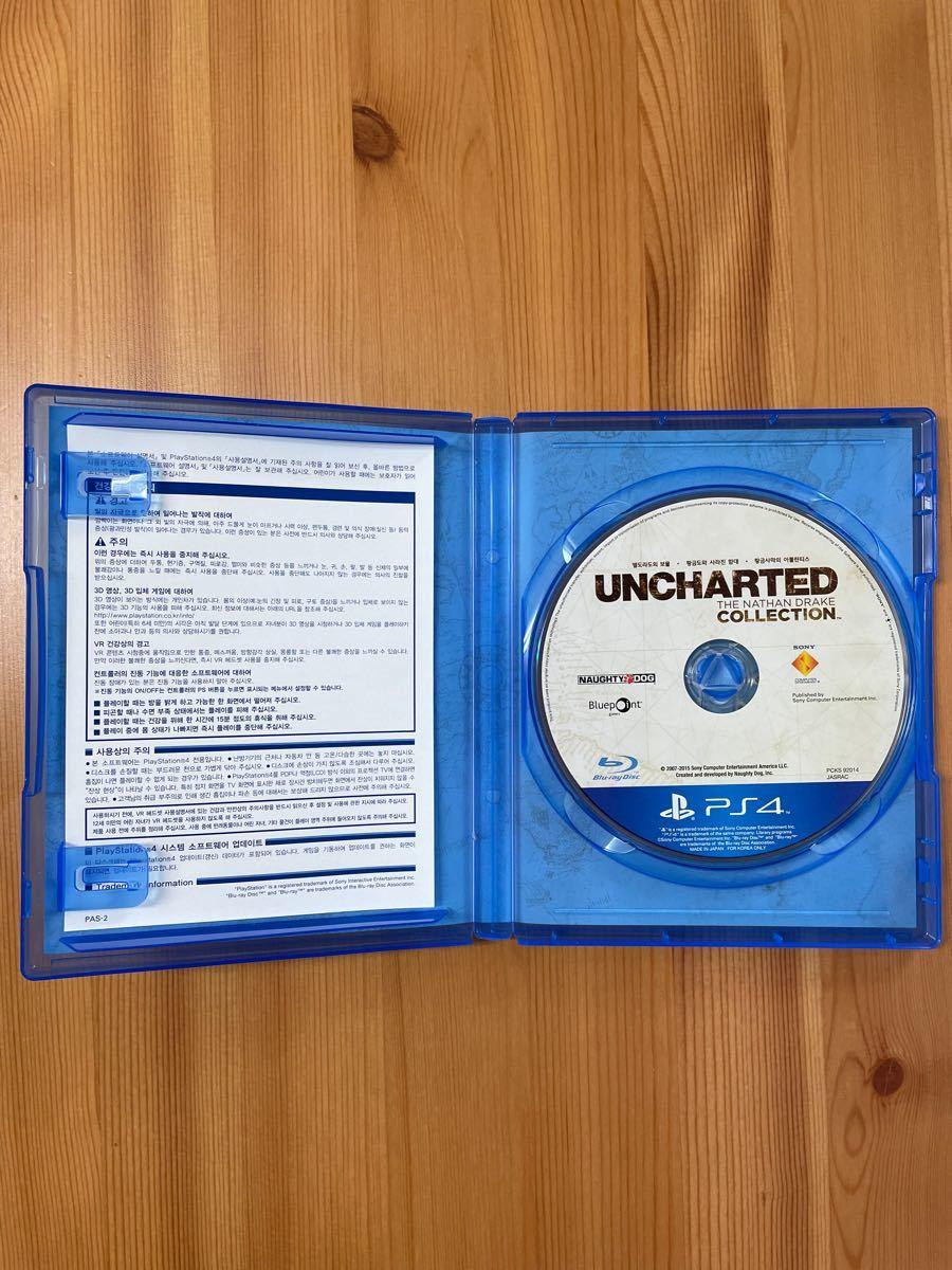 アンチャーテッドコレクション UNCHARTED COLLECTION  PS4 (韓国語版)