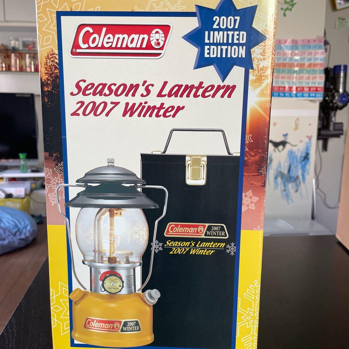 コールマン シーズンズランタン2007  WINTER リミテッドエディション