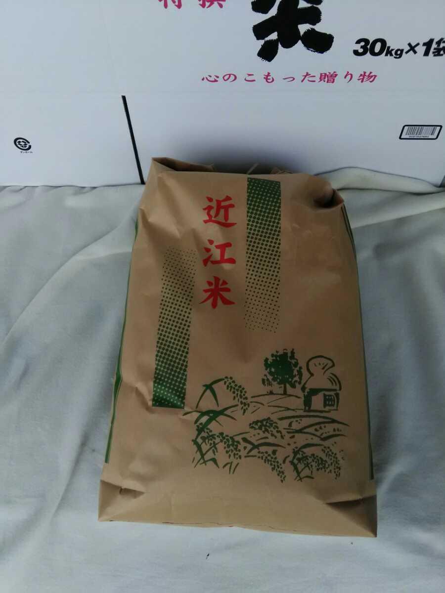 近江米 2020年産 キヌヒカリ 白米5キロ 1袋 送料込み(産地直送)_画像1