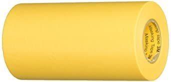 新品イエロー 100mm×18m 3M マスキングテープ 243J Plus 100mmX18m 243J 100XTR_画像1