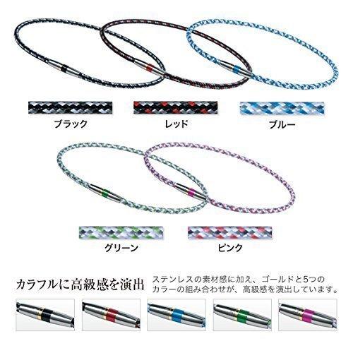 新品ブラック 50cm ファイテン(phiten) ネックレス RAKUWA ネックX50 ハイエンドIII 5CBHW_画像2