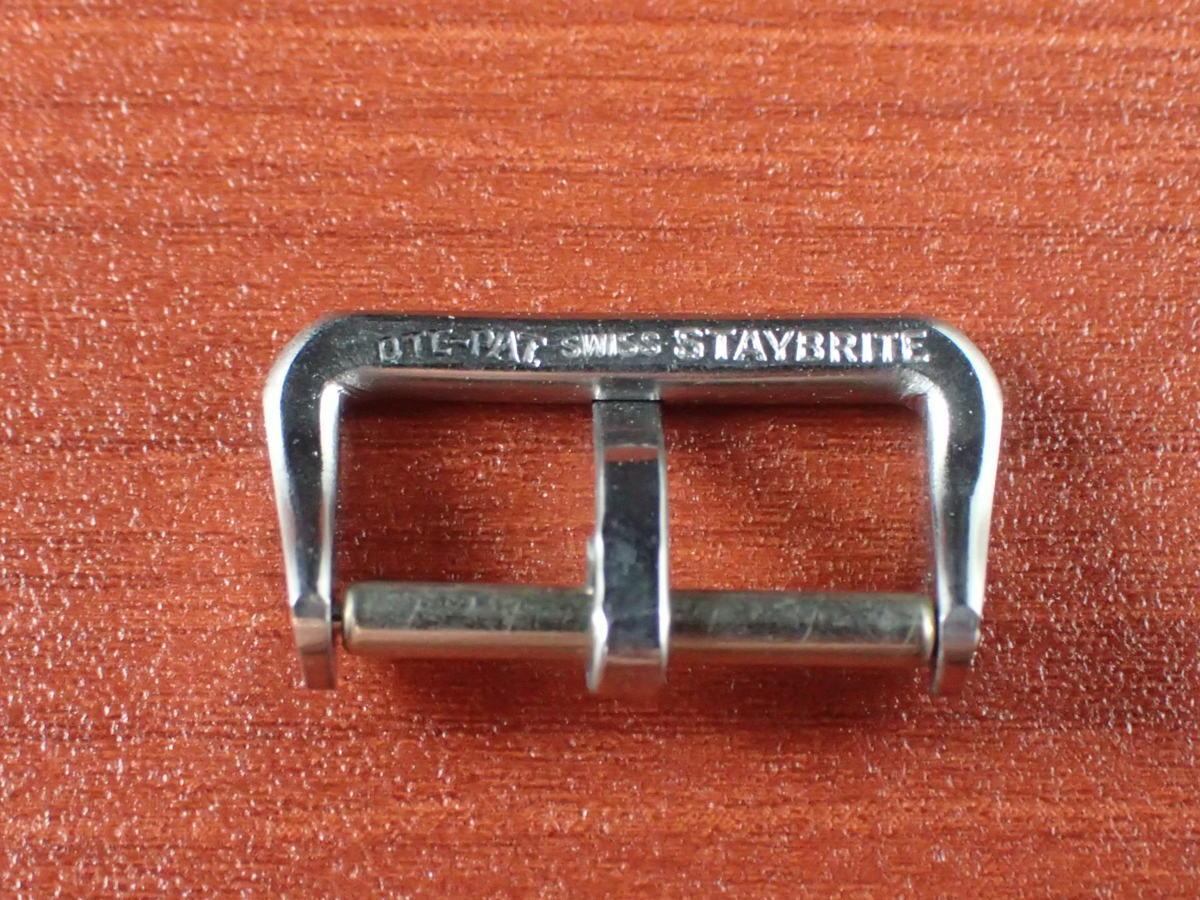 CP-A236 ヴィンテージSS尾錠 16mm ニューオールドストック N.O.S. 1940年代_画像5