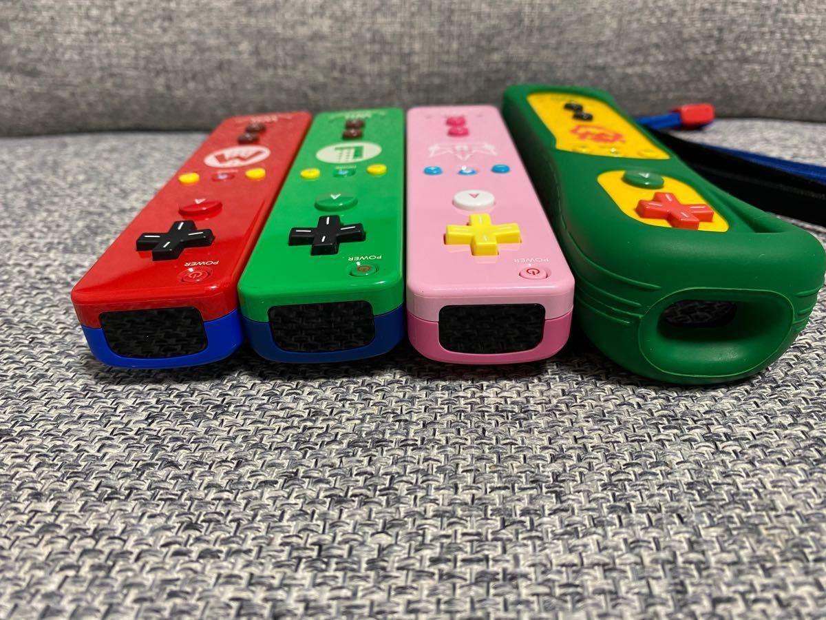Wiiリモコンプラス マリオ ルイージ ピーチ  【動作確認済み】