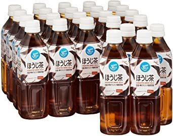 ほうじ茶 500ml 24本セット まとめ買い 箱買い セット ペットボトル ストック お茶 1ケース お買い得 お得 格安_画像2