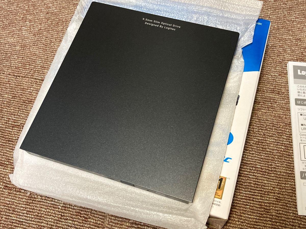 美品 ロジテック USB3.0 外付けBDドライブ ポータブルブルーレイドライブ ブラック  PIONEER BDR-UD04