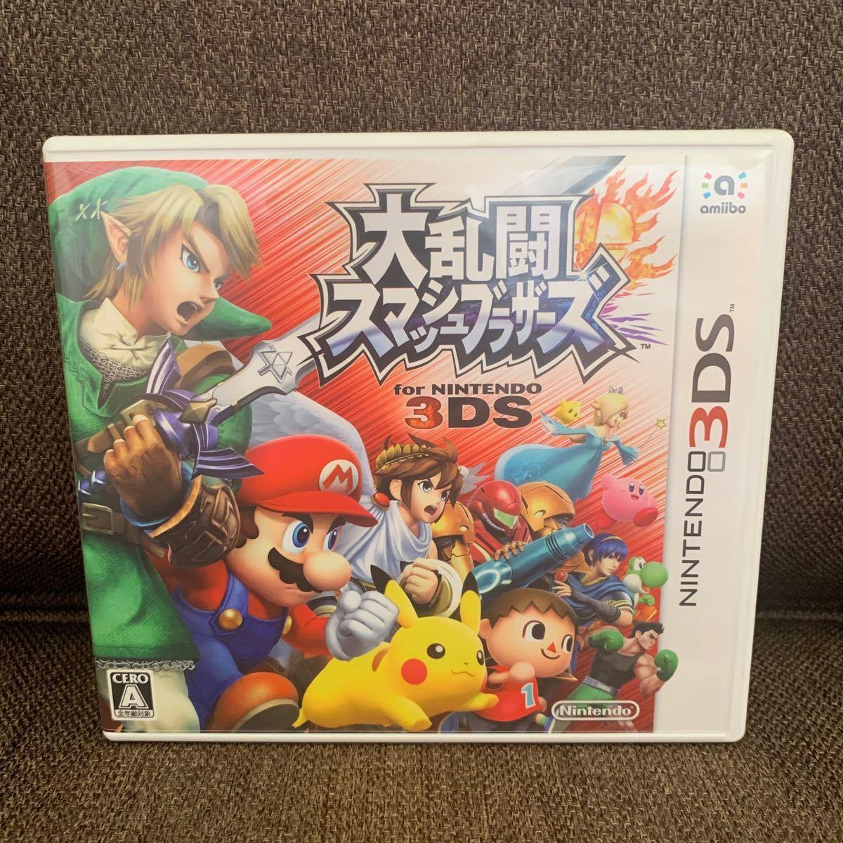 ニンテンドー3DS 大乱闘スマッシュブラザーズ 3DSソフト 大乱闘スマッシュブラザーズfor NINTENDO 3DS