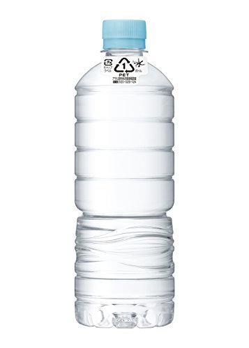 新品特価/600ml×24本(ラベルレス) アサヒ飲料 おいしい水 天然水 ラベルレスボトル PET600ml&tiL9FU_画像1