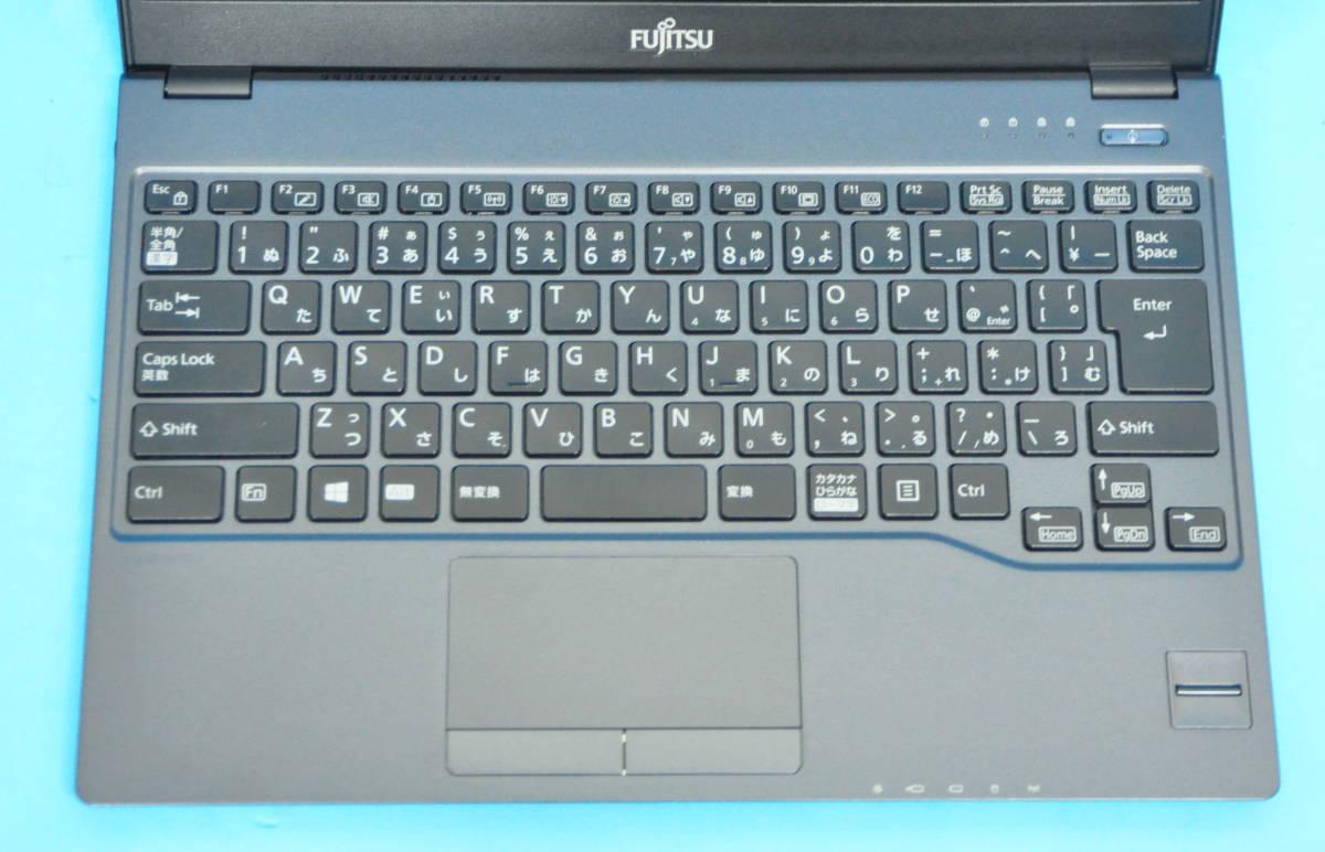 ★ 高速SSD M.2 !! 美品 上位モデル フルHD 富士通 MU937 ★ 第7世代 Celeron-3865U メモリ8GB SSD:192GB カメラ Wlan Office2019 Win10_画像2