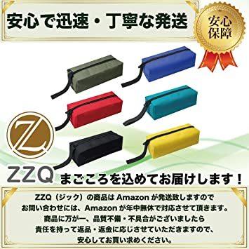 2色 ZZQ ツールバッグ 工具入れ 工具 腰道具 小物入れ ペンケース バッグ 小型 便利 腰 オックスフォード地 25cm _画像7