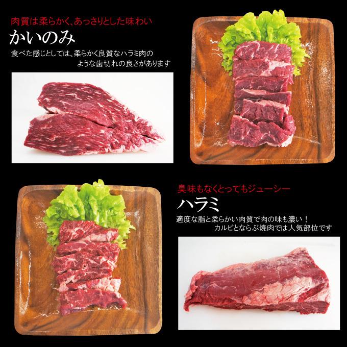 送料無料 ギフト 贈答品 牛肉焼肉カルビ食べ比べ4点盛り合わせ500g冷凍 2セット同時購入で肉500g増量中_画像7