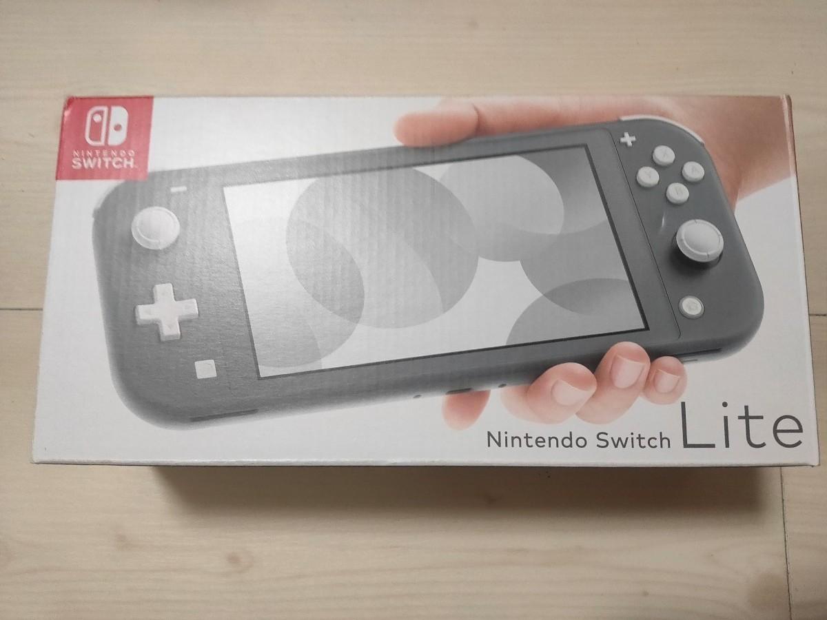 Nintendo Switch LITE 本体 グレー ニンテンドー スイッチ ライト 任天堂 ゲーム