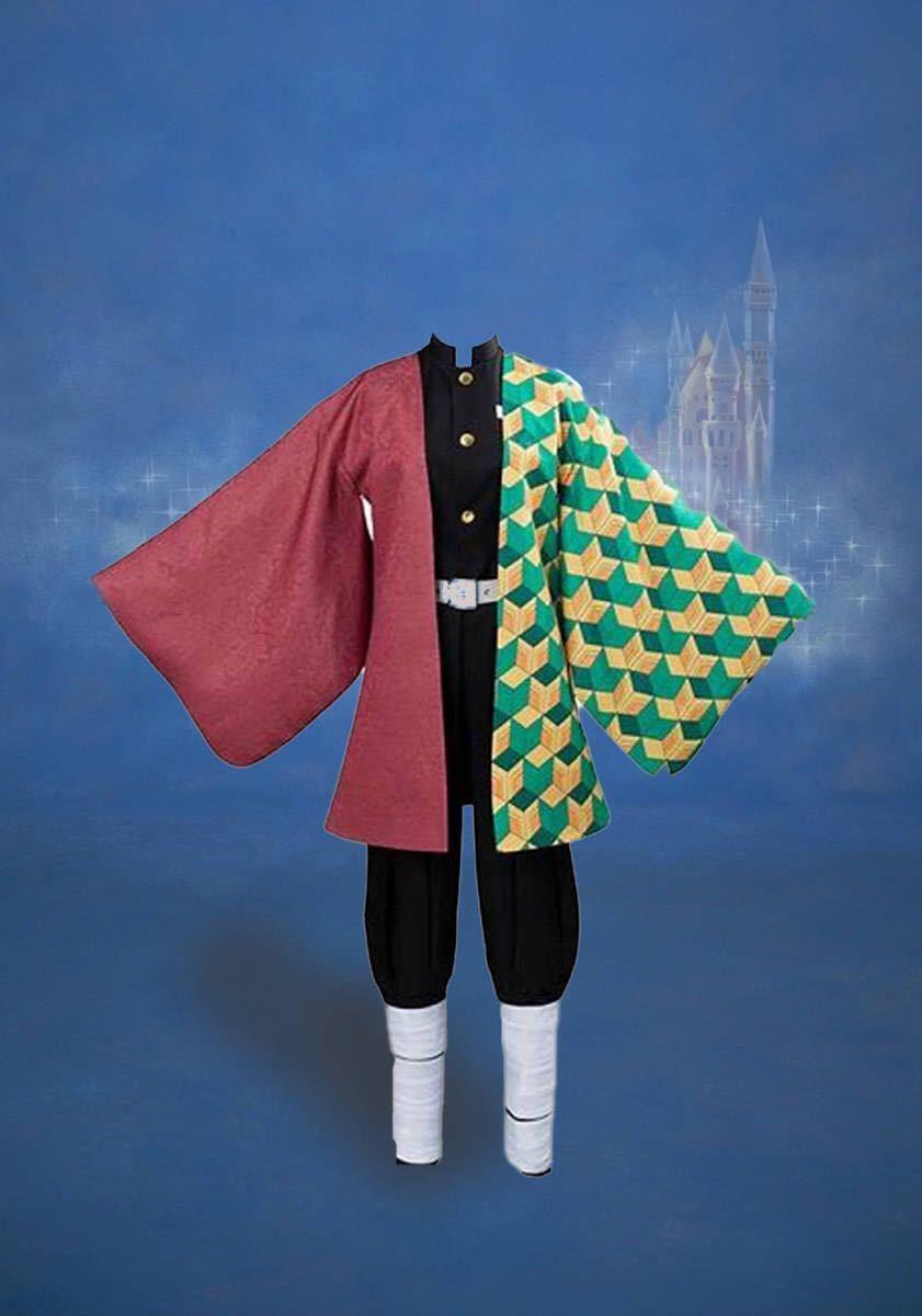 鬼滅の刃 キャラクター衣装。炭治郎、ねずこ、しのぶ、カナヲ、義勇の5着セット
