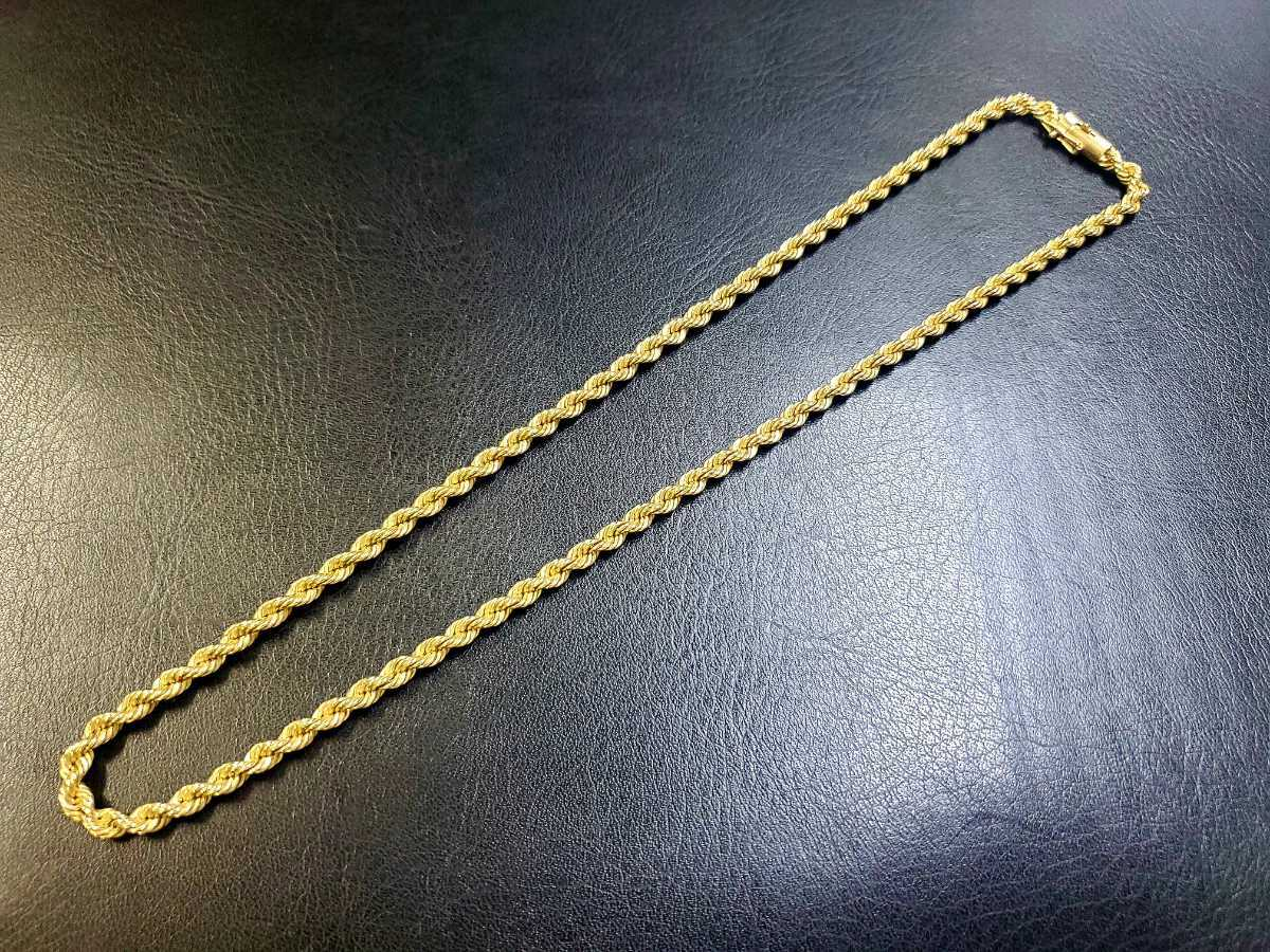 SN0306-46 TIFFANY&CO.ティファニーチェーンネックレス 14K 刻印 アクセサリー 貴金属 金 ゴールド ブランド