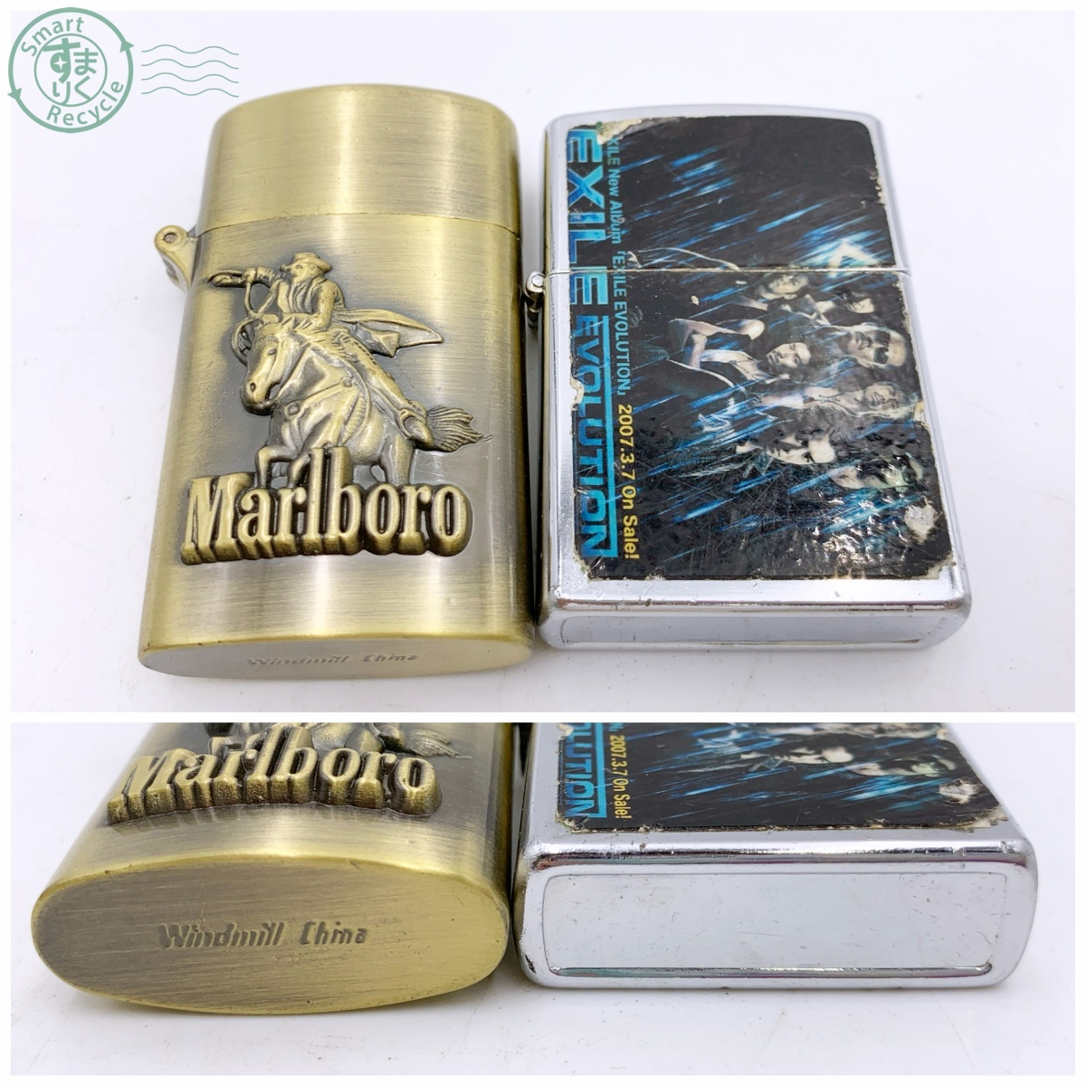 N10854 まとめ売り★ ガスライター オイル ライター 25点 ジバンシー バレンシアガ BEN DAVIS など 喫煙グッズ 喫煙具 シルバー ゴールド_画像7
