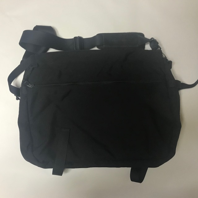 Eddie Bauer エディー・バウアー expandable briefcase 手提げ ショルダー バッグ ブラック