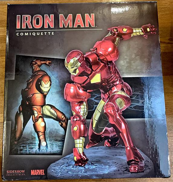 サイドショウ アイアンマン コミケット スタチュー マーベル Sideshow IRON MAN Comiquette 1/4 Statue Marvel