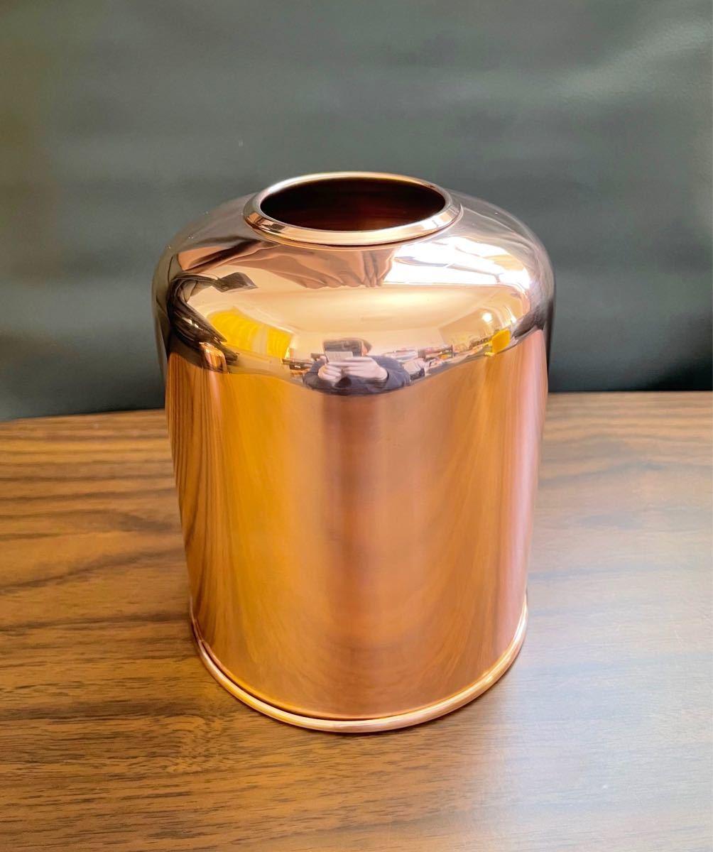 OD缶カバー ガスカートリッジカバー 銅製  鏡面仕上げ!ガスランタンカバー 500用!