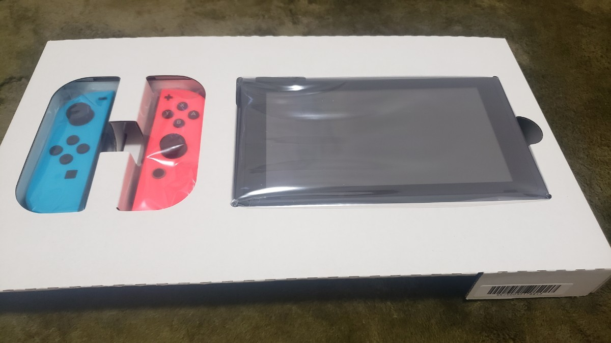 Nintendo Switch 本体  ネオンレッド/ ネオンブルー