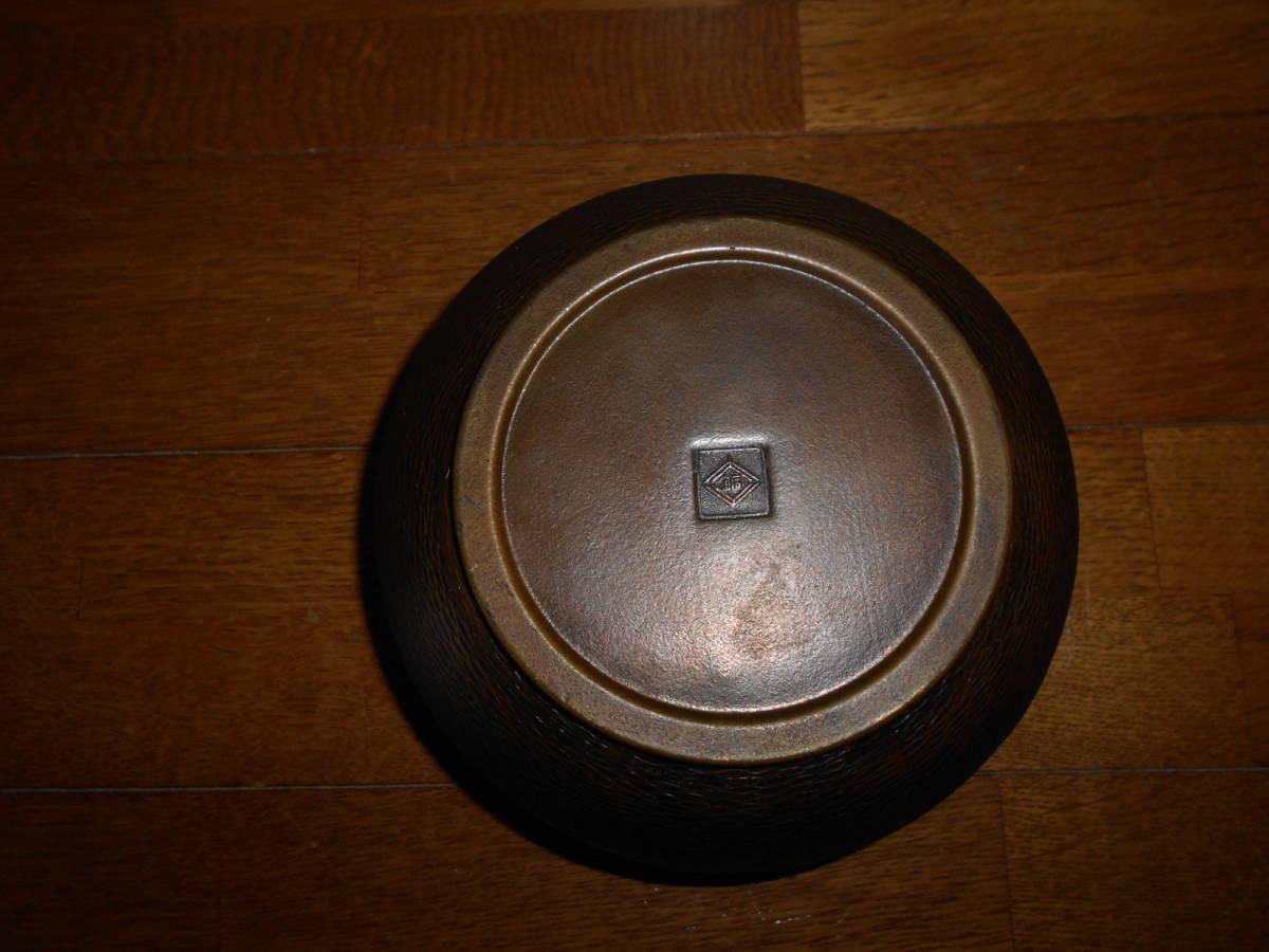 ★時代物 小ぶり 銅製建水 煎茶道具_画像4