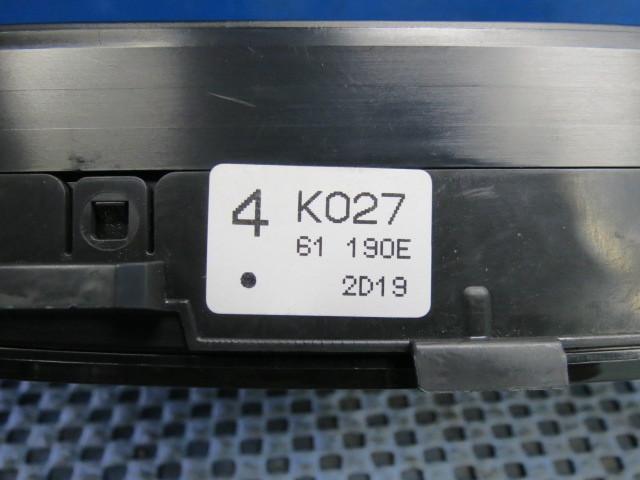 マツダ CX-5 エアコンスイッチ/エアコンパネル LDA-KE2AW 31-357 中古_画像6