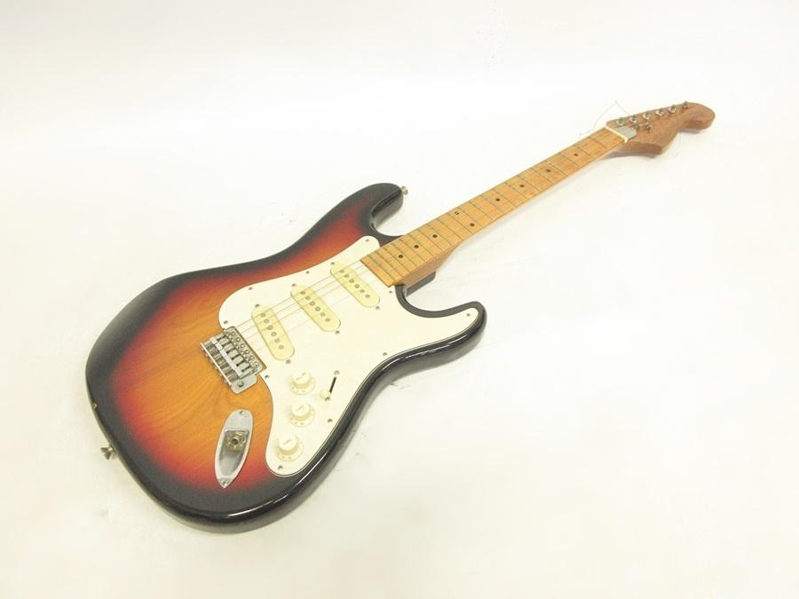 02 68-406725-16 [S] メーカー不明 エレキギター ストラトキャスター エレキ ギター 弦楽器 旭68_画像1
