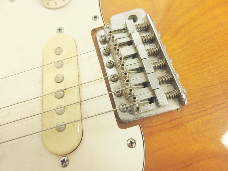 02 68-406725-16 [S] メーカー不明 エレキギター ストラトキャスター エレキ ギター 弦楽器 旭68_画像5