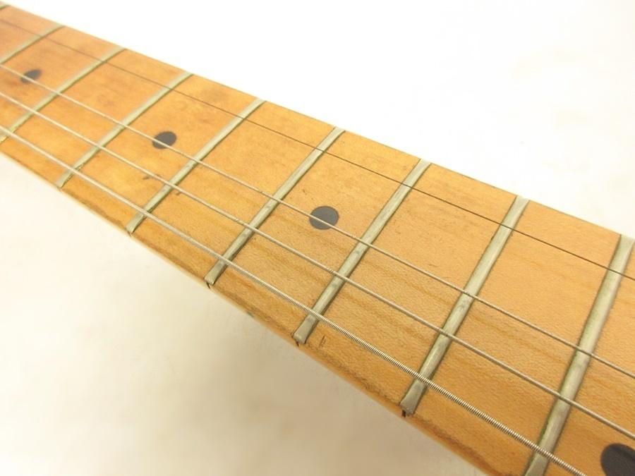 02 68-406725-16 [S] メーカー不明 エレキギター ストラトキャスター エレキ ギター 弦楽器 旭68_画像4