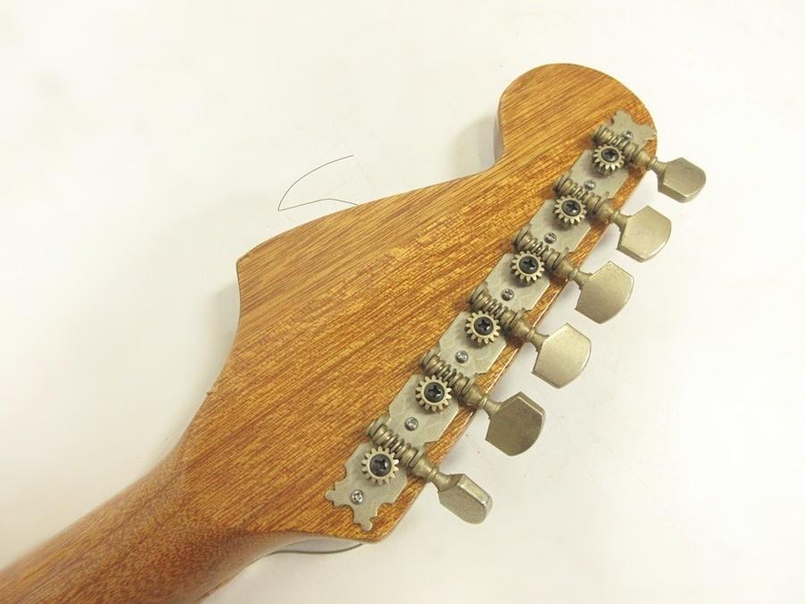02 68-406725-16 [S] メーカー不明 エレキギター ストラトキャスター エレキ ギター 弦楽器 旭68_画像3
