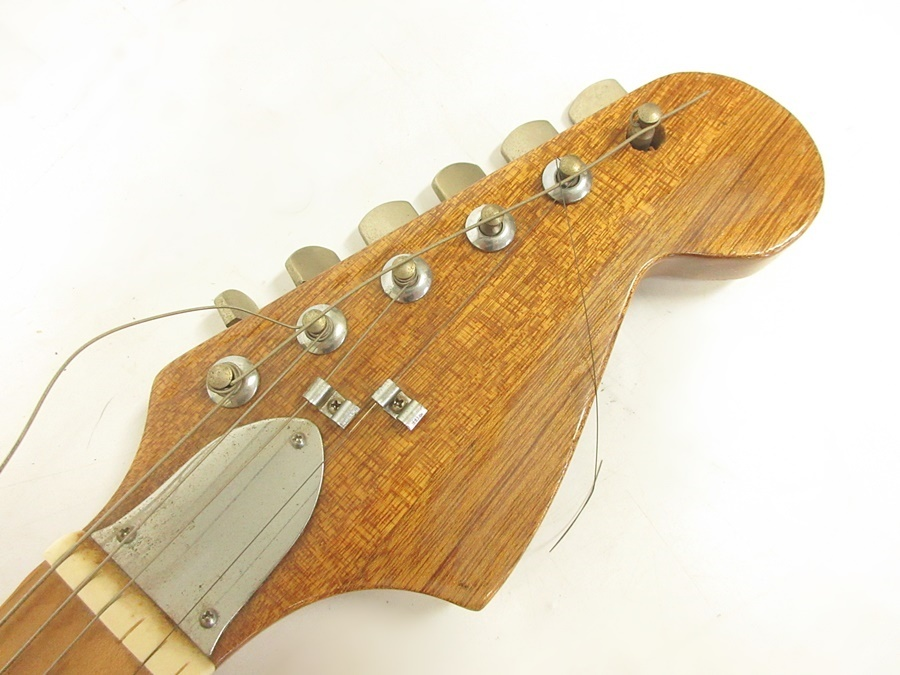 02 68-406725-16 [S] メーカー不明 エレキギター ストラトキャスター エレキ ギター 弦楽器 旭68_画像2