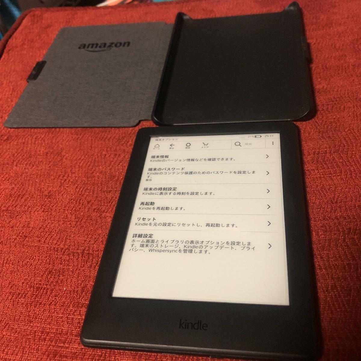 Kindle 第8世代 Wi-Fiモデル 4GB ブラック