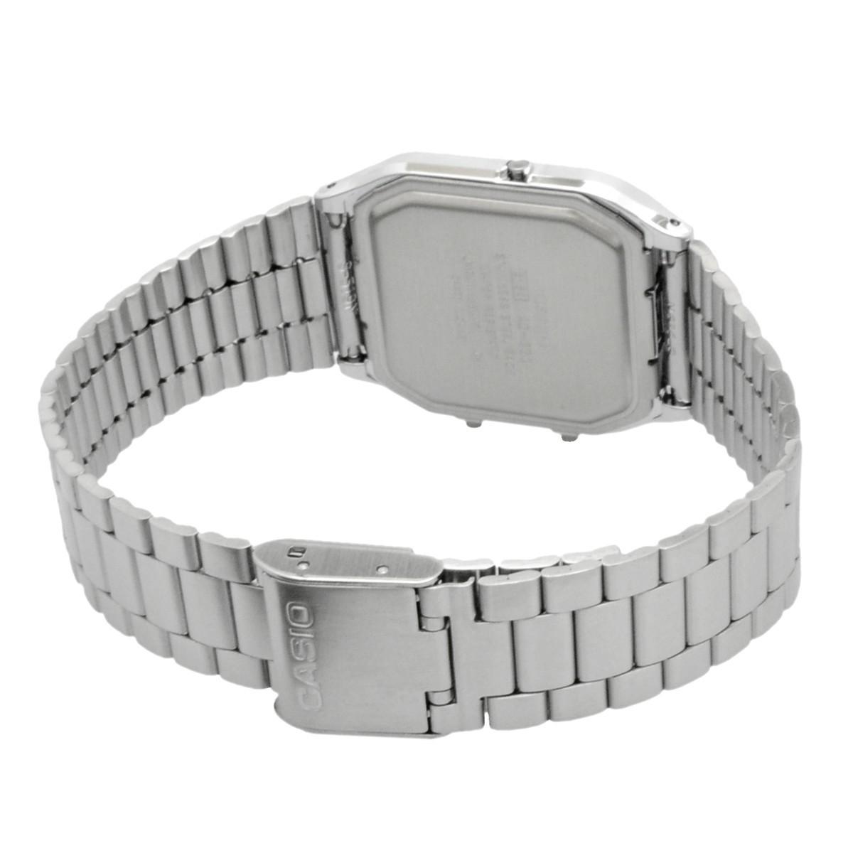 送料無料 腕時計 CASIO カシオ 海外モデル AQ-230A-1 チープカシオ デュアルタイム アナログ デジタル ユニセックス_画像3