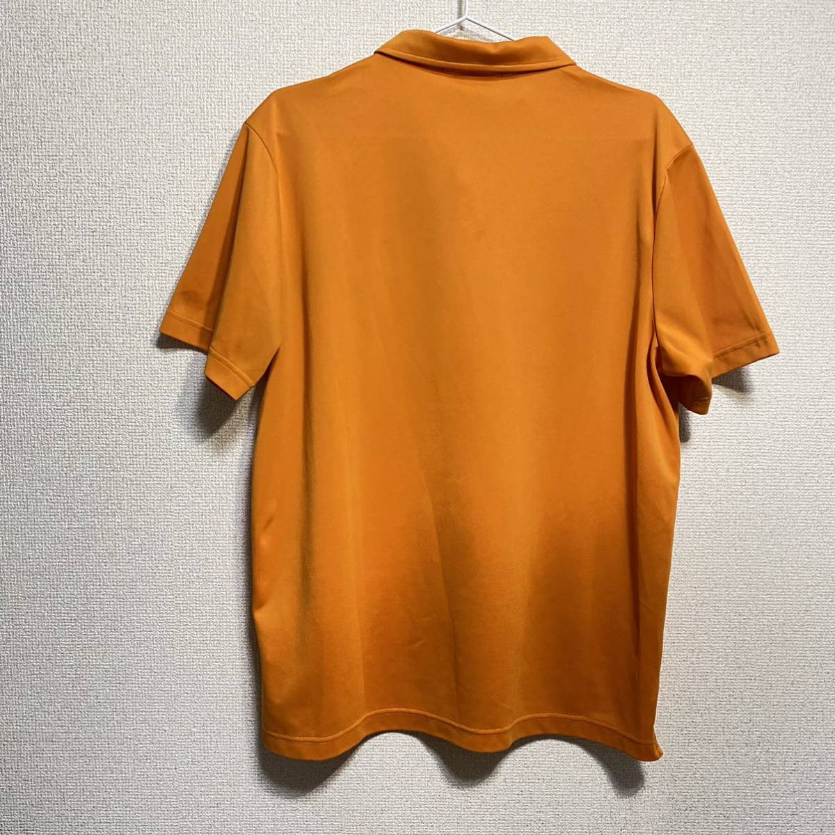 le coq sportif Golf ルコック ゴルフ 半袖ポロシャツ オレンジ メンズ L 迅速発送 送料無料!_画像2