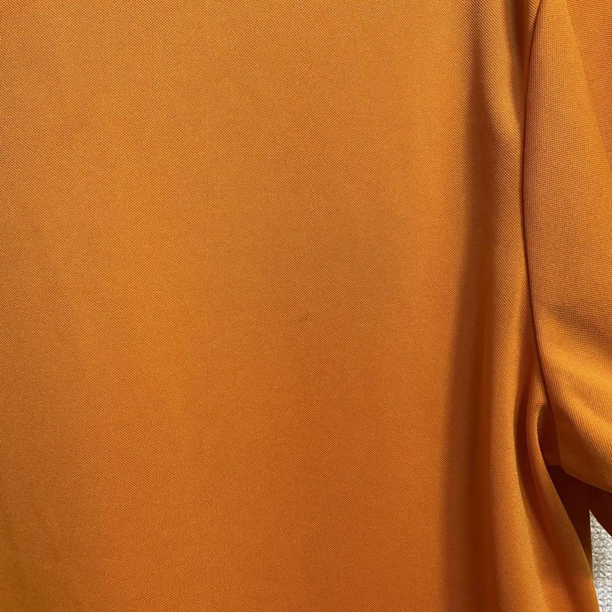 le coq sportif Golf ルコック ゴルフ 半袖ポロシャツ オレンジ メンズ L 迅速発送 送料無料!_画像9