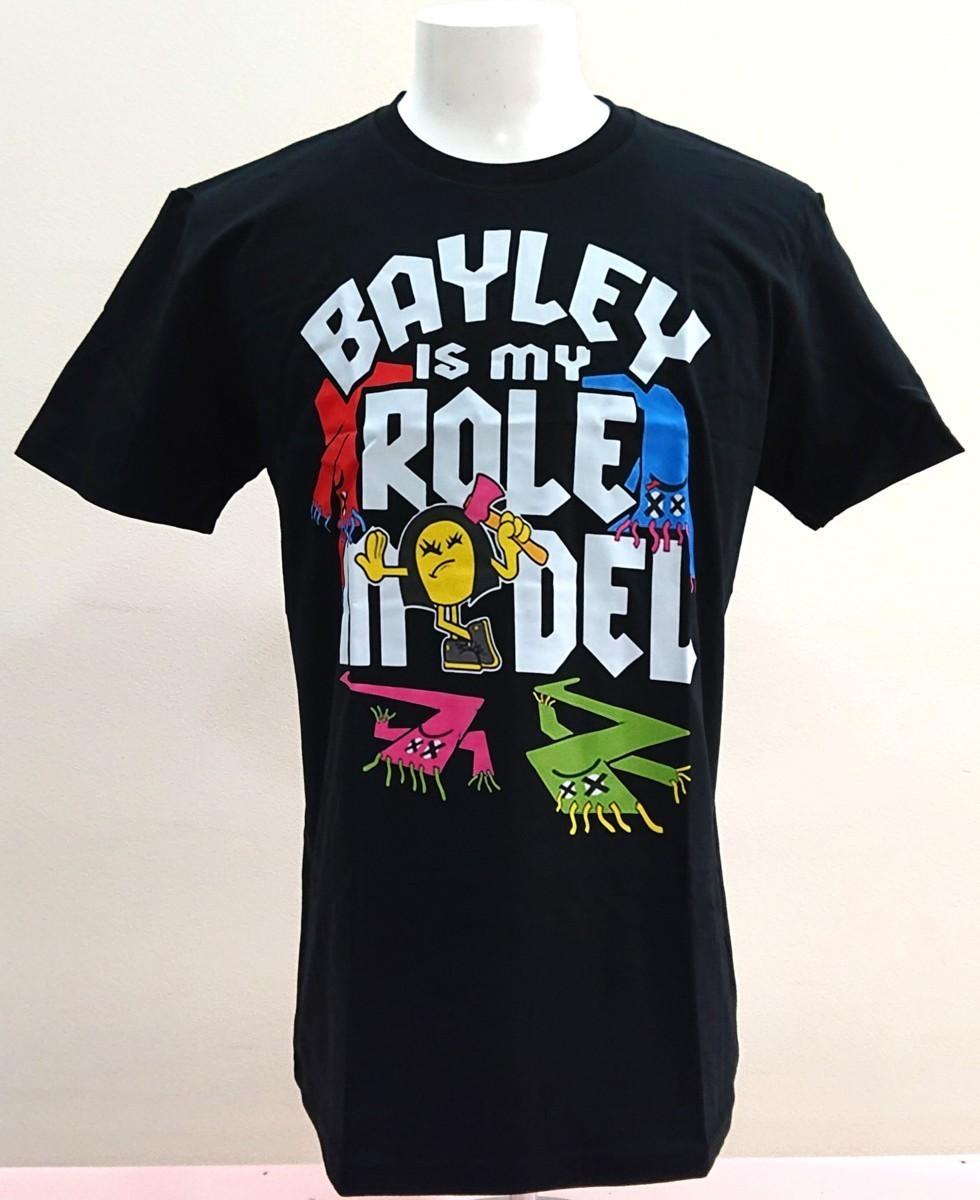 送料無料!【Lサイズ】ベイリー Tシャツ DEVA WWE RAW 女子プロ プロレス _画像1